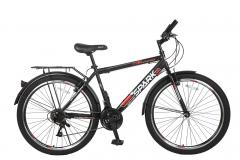 Купить Велосипед SPARK INTRUDER 26-ST-18-ZV-V (Черный с красным)