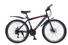 Купить Велосипед SPARK FORESTER 26-ST-19-ZV-D (Черный с красным)