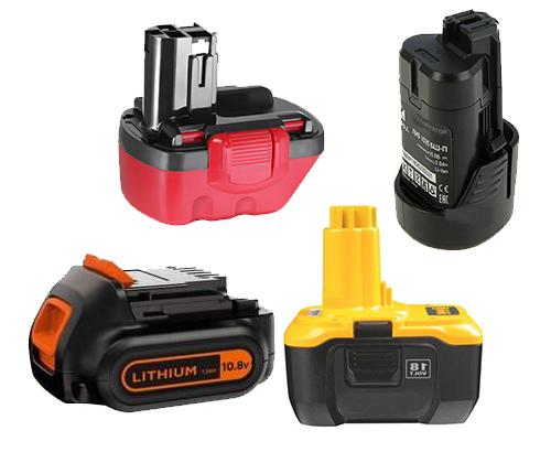 Акумулятори для електроінструментів