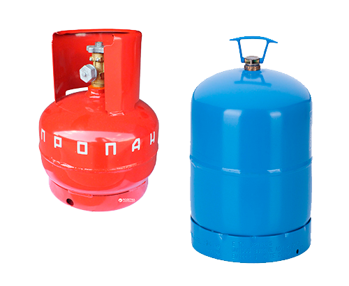 Газові балони для техніки