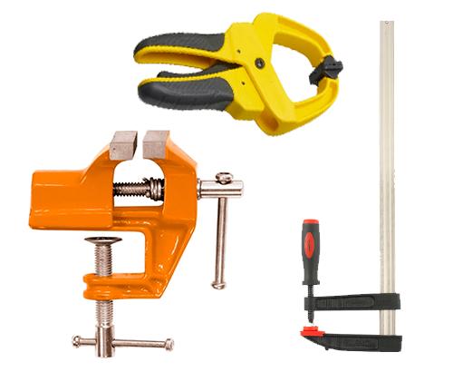 Зажимные устройства и инструменты