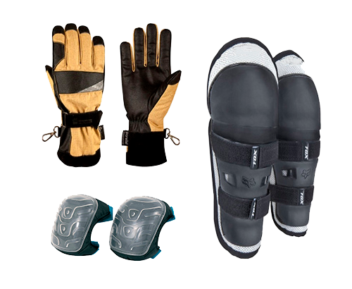 Средства защиты рук и ног